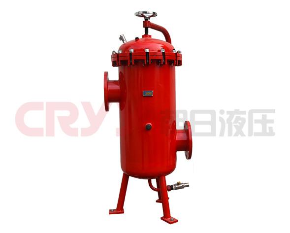 DRLF系列大流量回油过滤器的滤芯采用化纤过滤材质,具有过滤精度高、通油能力大、原始压力小、纳污量大等优点,并装有压差发讯器及旁通阀,当滤芯堵塞到进出口压差为0…